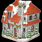 1992 Lefton Colonial Village Luminary Tealight Cottage