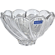 Marquis by Waterford Crystal Scalloped Art Bowl