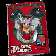 Enesco Disney Daisy Duck Christmas Ornament w/ Original Box