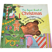 1970 The Sweet Smell of Christmas Hardcover Book