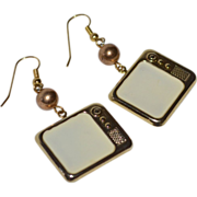 'Muppets' Enamel Television Dangle Earrings