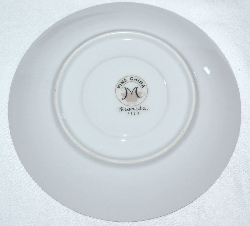 Fine China of Japan Granada Set of 4 Saucers from kitschandcouture on ...