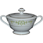 Fine China of Japan Granada Sugar Bowl with Lid