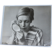 Twiggy 'The Face of 1966' Lesley Lawson Rare Candid Shot 8x10 Original Photograph