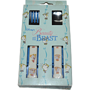 Walt Disney 'Beauty and the Beast' Child's Fork & Spoon Set