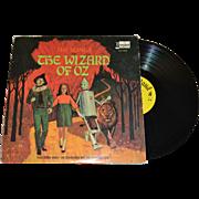 1969 Disneyland The Wizard of Oz LP Record