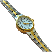 Anne Klein II Ladies Two-tone Silver/Goldtone Watch