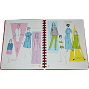 Rare 1969 Dorothy Moore The ORIENTAL Method of Pattern Drafting and Dressmaking Book