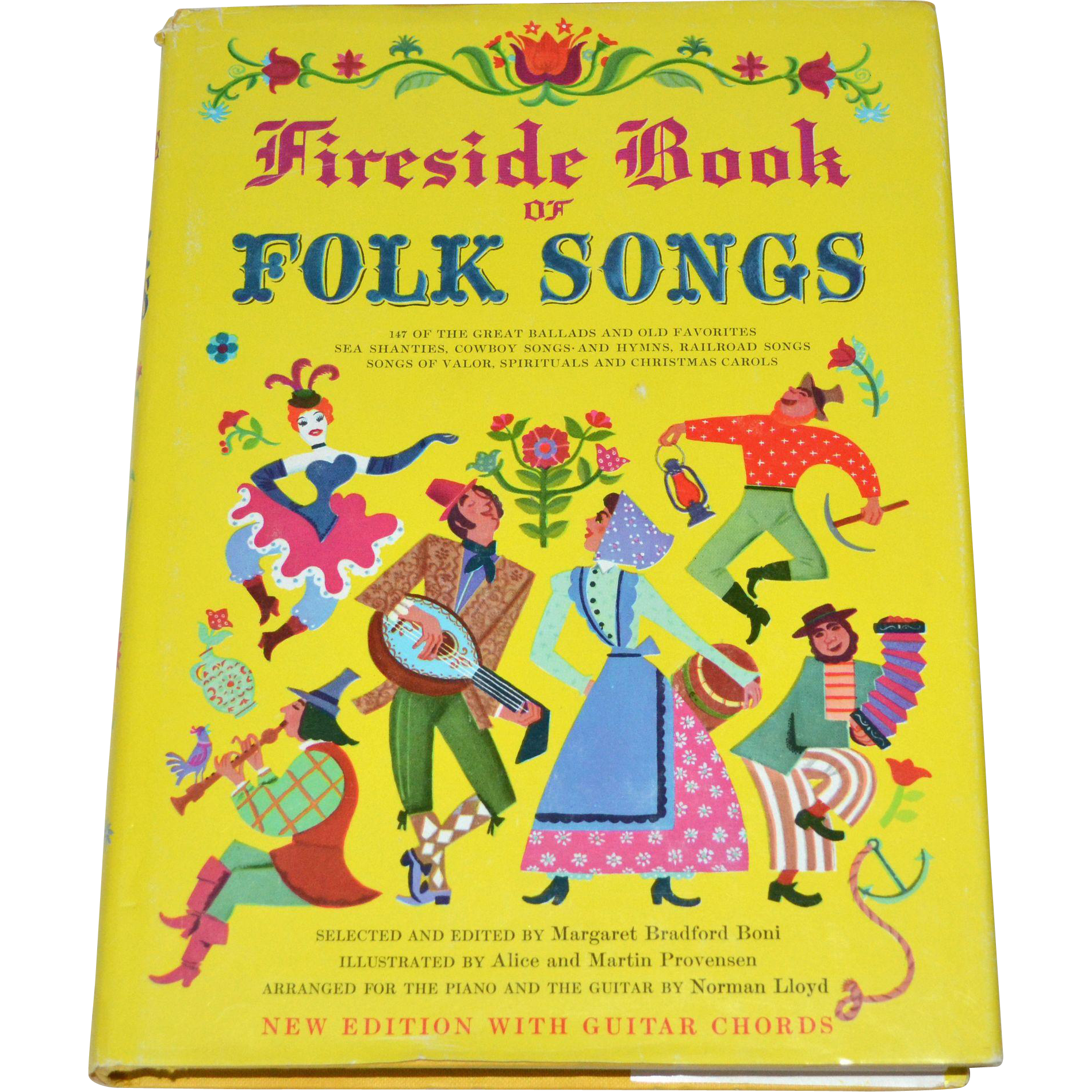 fireside book of folk songs hardcover songbook w dj guitar chords from kitschandcouture on ruby. Black Bedroom Furniture Sets. Home Design Ideas