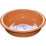 Fiesta Ware Tangerine Coupe Soup or Cereal Bowl