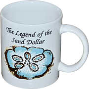 Legend of the Sand Dollar Religious Ceramic Coffee Mug