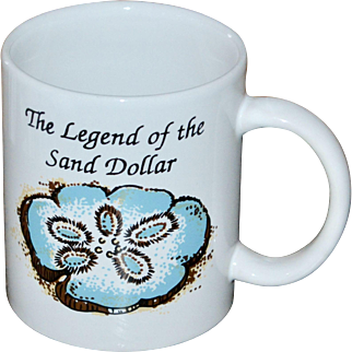 Legend of the Sand Dollar Religious Ceramic Coffee Mug