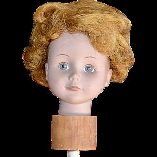 Cute Orange Auburn Annie Style Short Hair Doll Wig