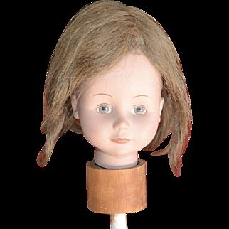 Long, Light Brown Hair Doll Wig