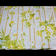 Stevens Utica Set of 2 Yellow Flower Standard Pillowcases