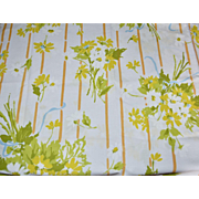 Stevens Utica Set of 2 Yellow Flower Standard Pillowcases