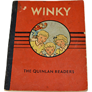 Circa 1939 WINKY (the Monkey!) The Quinlan Readers