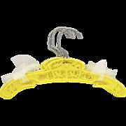 Set of 4 Yellow Carnival Carousel Children's Hangers