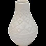 West4 1/2 Germany 502-11 White Glazed Ceramic Small Mid-Century Modern Pottery Vase