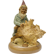 "Tom Clark ""Skipper"" Gnome Figurine w/Seashells #1005"