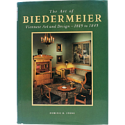 """The Art of Biedermeier Viennese Art and Design 1815 - 1845"" Hard Cover Book w/ DJ"