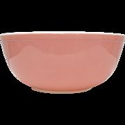 Circa 1950s Pyrex Pink Milk Glass 4 Quart 404 Mixing Bowl