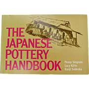 "Circa 1980s ""The Japanese Pottery Handbook"" By Penny Simpson & Kanji Sodeoka Lettering & Drawings by Lucy Kitto"