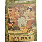 "1904 Reprinted in 1970 ""Christmas Edition Gold Medal Flour Cook Book"""