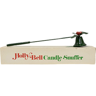 Department 56 Holly Bell Candle Snuffer