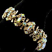 Vintage AB Aurora Borealis Rhinestone Bracelet