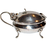 Chinese Export Silver Mustard Pot by Tackhing