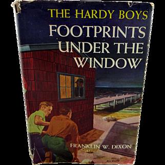 "Hardy Boys Book ""Footprints Under the Window"" 1933"
