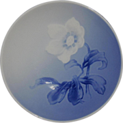 Small Blue/White Floral Pin Dish, Bing & Grondahl, Denmark