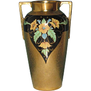 Gorgeous Pickard All Over Gold and Encrusted Poppies Vase