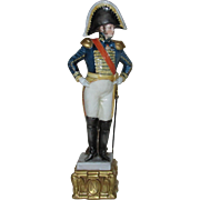 Napoleonic Marshall - Tall, Hand Painted Porcelain Figurine