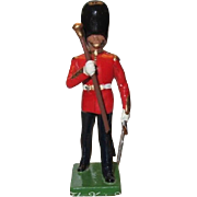 W. Britain Cast Metal Royal Grenadier Marching Drum Major