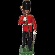 W. Britain Cast Metal Royal Grenadier Marching Drum Major