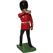 W. Britain Cast Metal Royal Grenadier Guard Marching Cornet Player