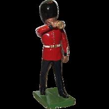 W. Britain Cast Metal Royal Grenadier Guard Marching Cornet Player