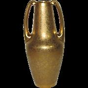 Osborne Chicago Studio All Over Gold Vase with Handles