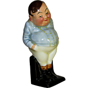 Royal Doulton Charles Dickens Figurine, Fat Boy from Pickwick Papers