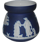 Cobalt Blue Jasperware Small Jar, Dudson Brothers