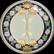 Limoges, Pickard Art Nouveau Plate, Signed by Artist Emil Fischer
