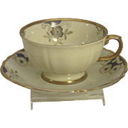 Lovely Demitasse Set, Eschenbach, Bavarian Porcelain