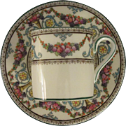 Wedgwood Ventnor Pattern Demitasse, Cup and Saucer
