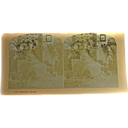 Stereoview Albumen Stereo Card Phantom visions #1107 EERIE!