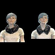Mink Collar Suede Trim VERSATILE