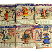 Dolls Of Our World Commonwealth Plastics Corp.Six Figurines