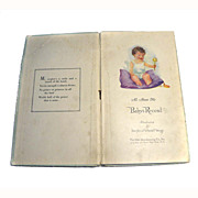 1913 Baby Book ALL ABOUT ME Baby's Record Personalize So Sweet