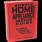1954 Audels Home Appliance Service Repair Guide